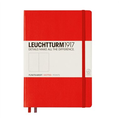 Leuchtturm1917 Medium (A5bullet Journal Notebook) - Red