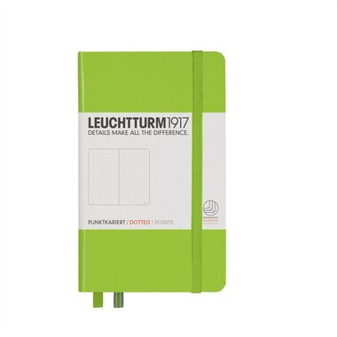 Leuchtturm1917 Pocket (A6) Bullet Journal Notebook - Lime