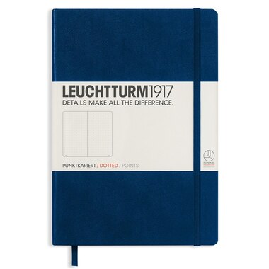 Leuchtturm1917 Medium (A5 bullet Journal Notebook) - Nacy