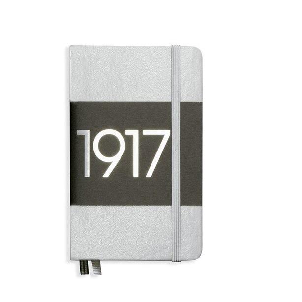 Leuchtturm1917 Soft Cover Pocket A6 Bullet Journal Notebook - Silver