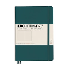LEUCHTTURM1917 MEDIUM (A5) DOTTED JOURNAL PACIFIC GREEN