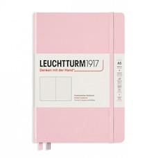 Leuchtturm1917 Medium (A5) Dotted Hardcover Journal Powder