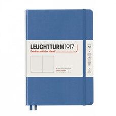 Leuchtturm1917 Medium (A5) Dotted Hardcover Journal Denim