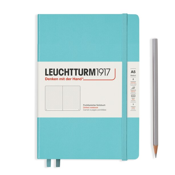 LEUCHTTURM1917 DOTTED MEDIUM AQUAMARINE