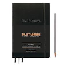 LEUCHTTURM1917 - BULLET JOURNAL MARK II MEDIUM (A5), COUVERTURE RIGIDE, 206 PAGES NUM., BLACK…