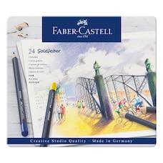 Faber Castell Goldfaber Trousse de 24 Crayons de Couleur