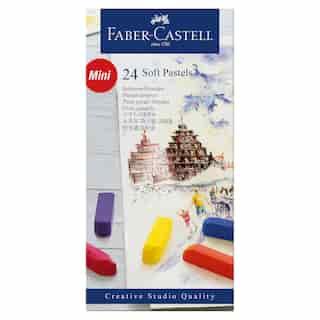 Faber-Castell Creative Studio Soft Pastels box of 24