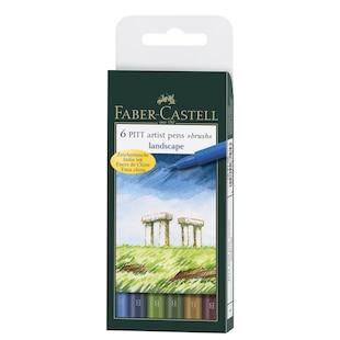 PITT Artist Pens in Landscape- Wallet of 6