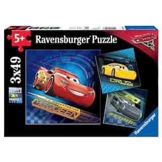 Cars 3 (3 x 49 Piece Puzzles)