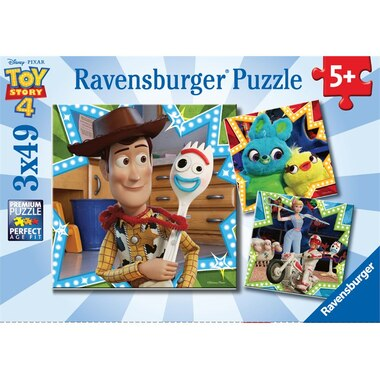 Ravensburger Puzzle Toy Story 4 49 Pieces Set of 3