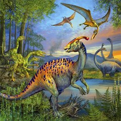 DINOSAUR FASCINATION Puzzle 3x49