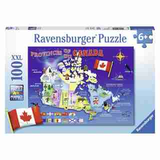 Ravensburger Map of Canada - Extra Large - 100 Piece Puzzle