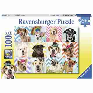 Ravensburger Doggy Disguise 100 Piece Puzzle