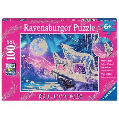TWILIGHT HOWL 100PC GLITTER Puzzle