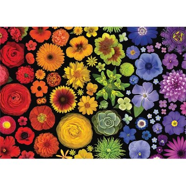 Flower Power 1000-Piece Puzzle