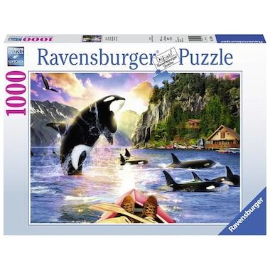 Wanderlust 1000-Piece Puzzle Close Encounters