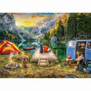 Ravensburger Calm Campsite 1000 Piece Jigsaw Puzzle