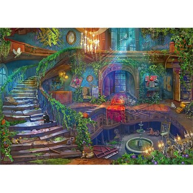 ABANDONED PLACES Hotel Vacancy 1000-PIECE PUZZLE