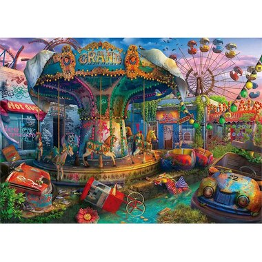 ABANDONED PLACES Gloomy Carnival Request Box 1000-PIECE PUZZLE