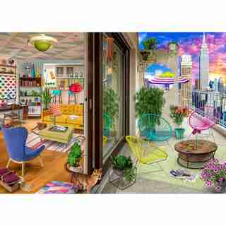 NYC Apartment 1000 Piece Jigsaw Puzzle