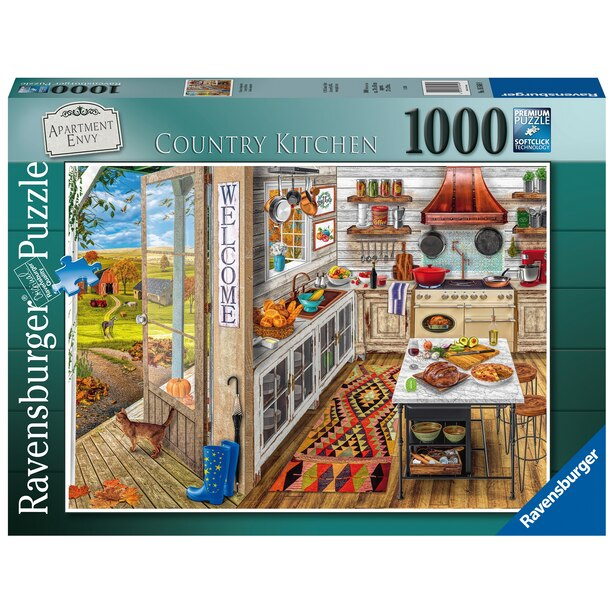 Ravensburger Country Kitchen 1000 Piece Jigsaw Puzzle