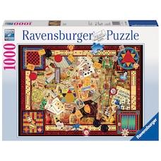 Ravensburger Vintage Games 1000 Piece Jigsaw Puzzle