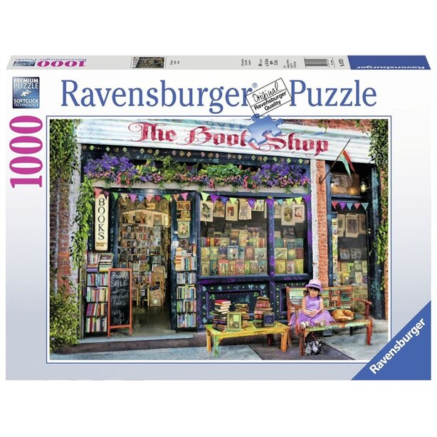 Ravensburger The Bookshop 1000 Piece Puzzle