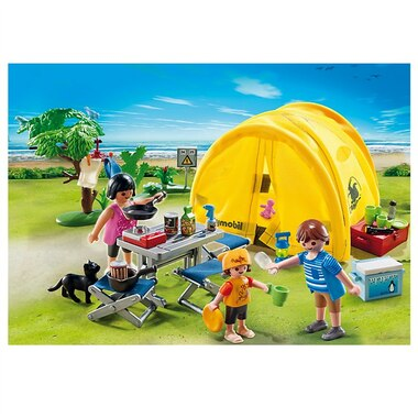 playmobil family camping trip by playmobil toys