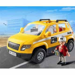 Playmobil Site Supervisor's Vehicle