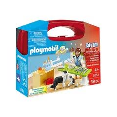 Playmobil City Life - Vet Visit Carry Case