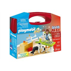 Playmobil City Life - Vet Visit Carry Case