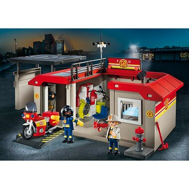 Playmobil City Action - Take Along Fire Station