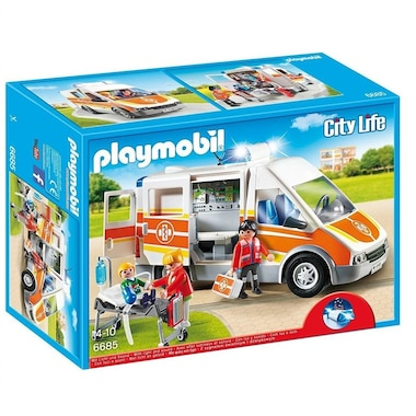 Playmobil The Friendly Children's Hospital - Ambulance with Lights and Sound