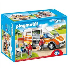 Playmobil - The Friendly Children's Hospital - Ambulance with Lights and Sound