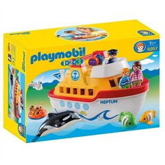 Playmobil 1.2.3 -  My Take Along Ship