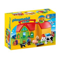 Playmobil 1.2.3 - My take Along farm