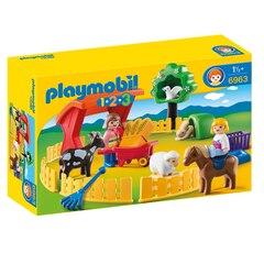 Playmobil 1.2.3 - Petting Zoo