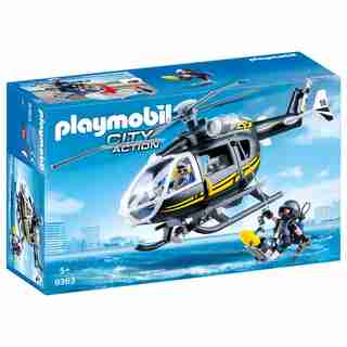 Playmobil Tactical Unit Helicopter