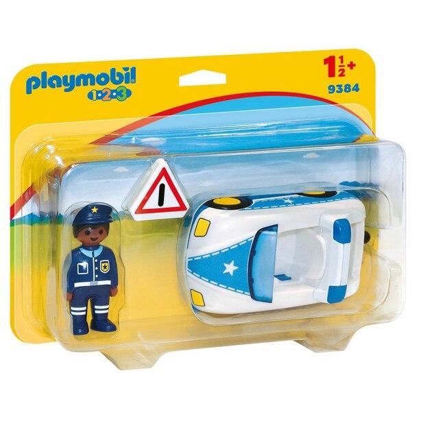 Playmobil® Police Car 1.2.3