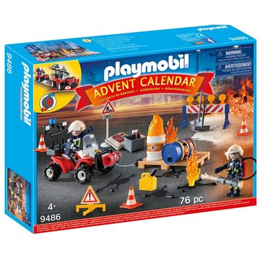 Playmobil® Advent Calendar - Fire Rescue on the Construction Site
