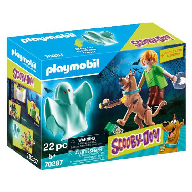 Playmobil SCOOBY-DOO! - Scooby & Shaggy with Ghost