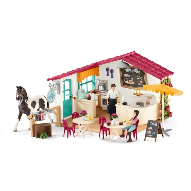 Schleich Hand Painted Figure - Rider Café