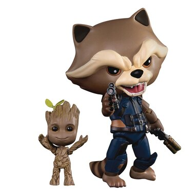 Guardians of the Galaxy 2: Rocket Racoon & Baby Groot - Action Figures