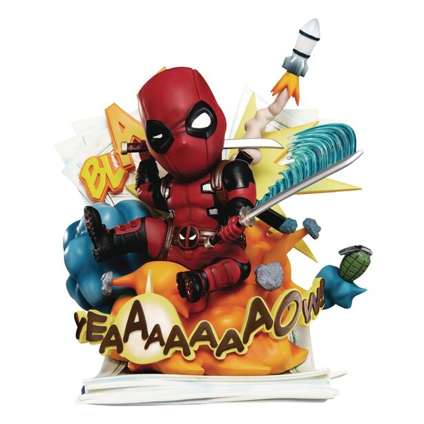 Marvel: Deadpool - Cut Off The Fourth Wall - Statue