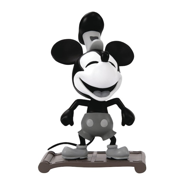 Disney: Mickey Mouse 90th Anniversary - Steamboat Willie - Action Figure