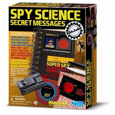 Spy Science - Secret Messages