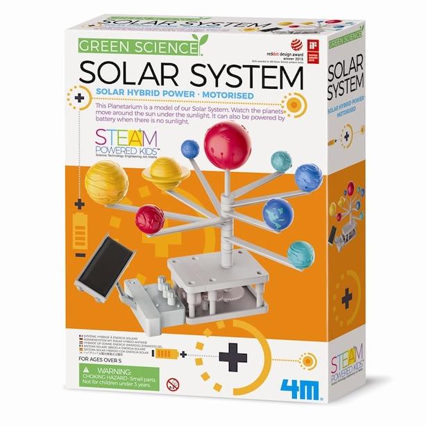 4M® Hybrid-Powered Solar System Planetarium