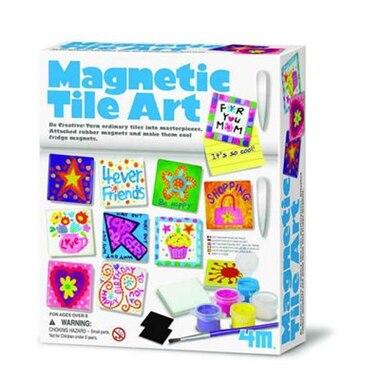 Magnetic Tile Art