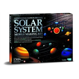 3D Solar System Mobile