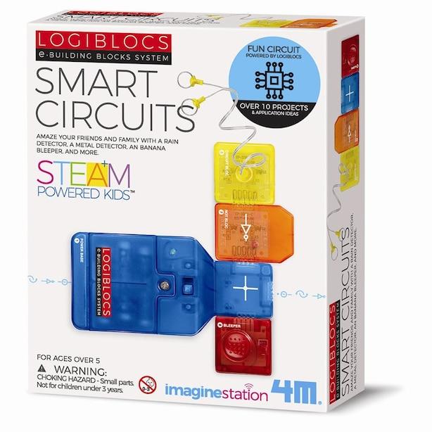 4M Logiblocs Science Kit Smart Circuits